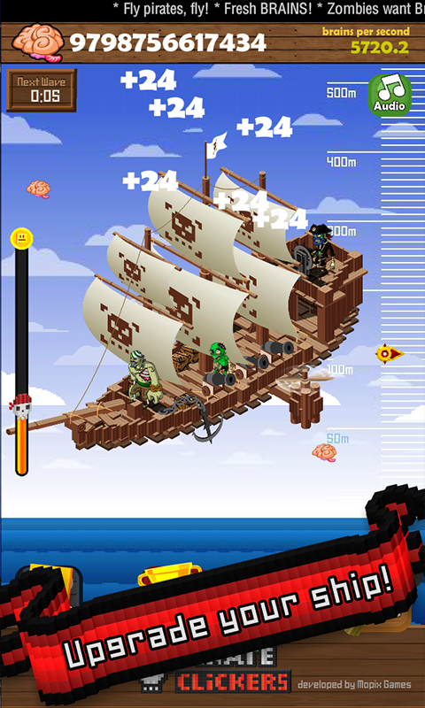 Pirate Clickers- screenshot