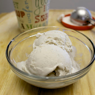Homemade Vanilla Coconut Ice Cream