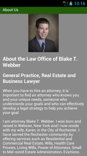 Law Office of Blake T. Webber
