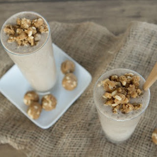 Peanut Butter Bomb Smoothie for Two.
