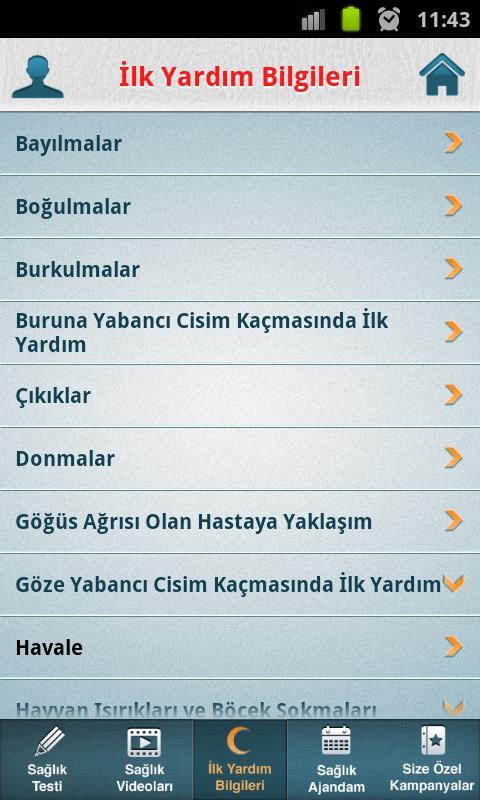 Acibadem Mobil Saglik - screenshot