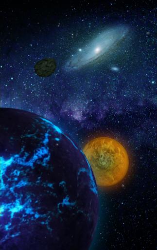 惑星ライブ壁紙