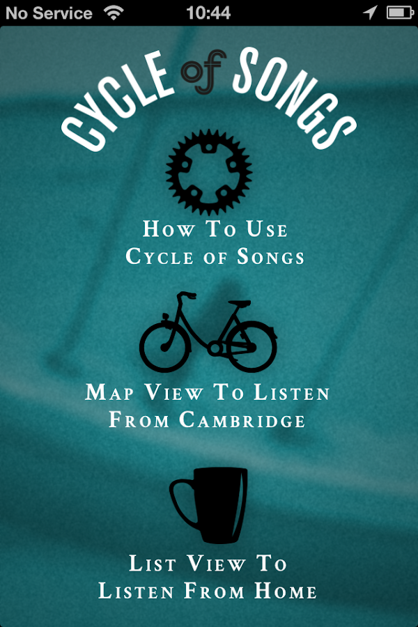 Cambridge Cycle of Songs- screenshot