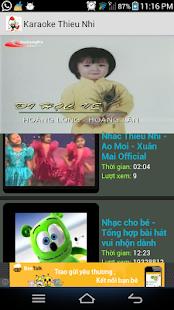 Karaoke Thieu Nhi