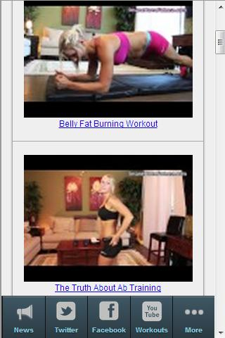 Womens Fitness Tips- screenshot