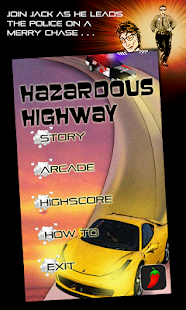 Hazardous Highway Car Racing - screenshot thumbnail