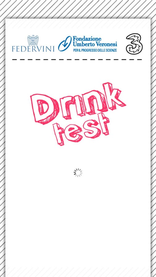 DrinkTest- screenshot