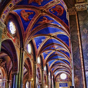 Basilica di Santa Maria sopra Minerva 3 by Stefano Landenna - Buildings & Architecture Places of Worship ( church, blue, rome, italy )