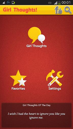 玩娛樂App|Girl Thoughts!免費|APP試玩