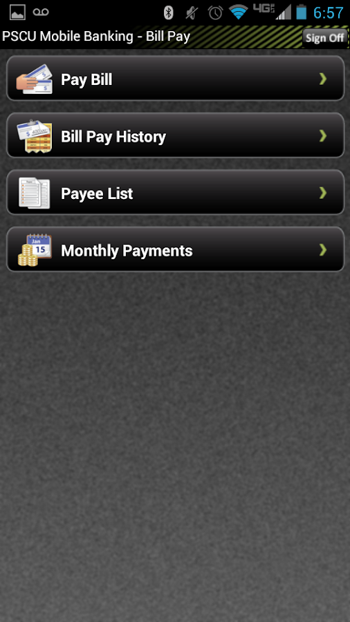 Public Service Credit Union - screenshot