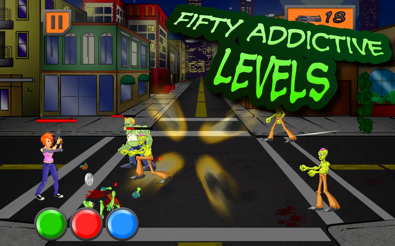 ZomNomNom - Zombie Game - screenshot