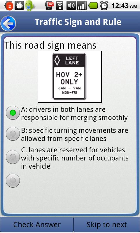 USA Driver License Pass - screenshot