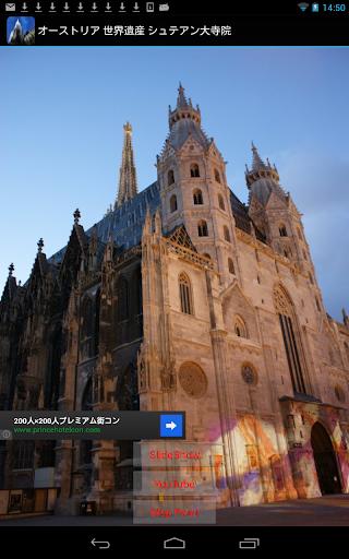 オーストリア 世界遺産 シュテファン大聖堂 OT002