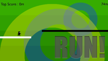 Screenshot of Run! Black&White