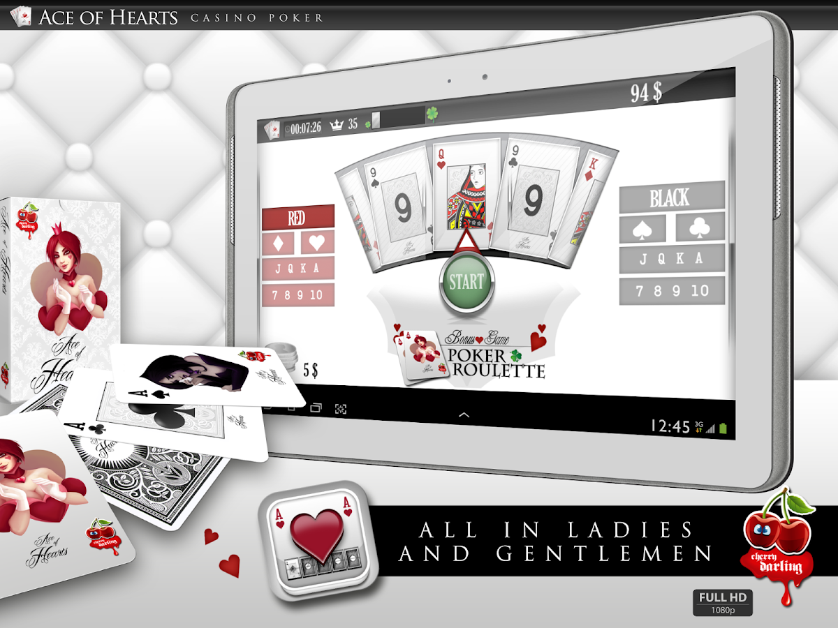 Ace Of Hearts - Video Poker- screenshot
