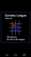 Screenshot of Gomoku League