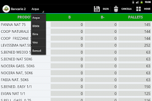 Screenshot of Gestione Inventario