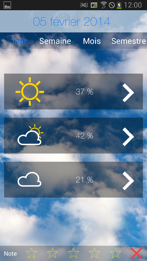 LifeWeather - screenshot