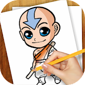 Learn To Draw Avatar Aang