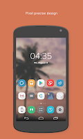 Screenshot of Influx - Icon Pack