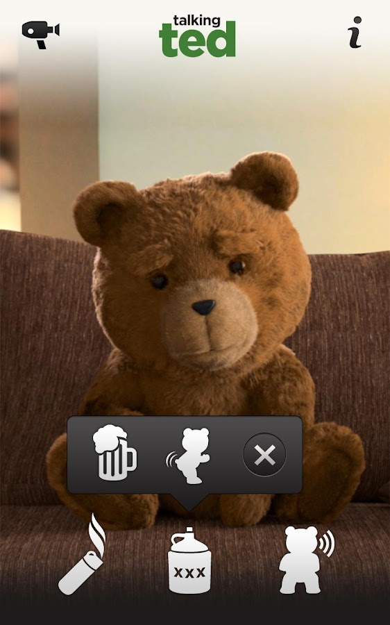 Talking Ted LITE- screenshot
