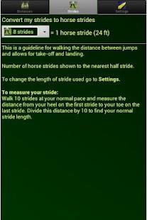 Show Jump Distances for Horses- screenshot thumbnail