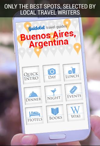Top 60 Spots Buenos Aires