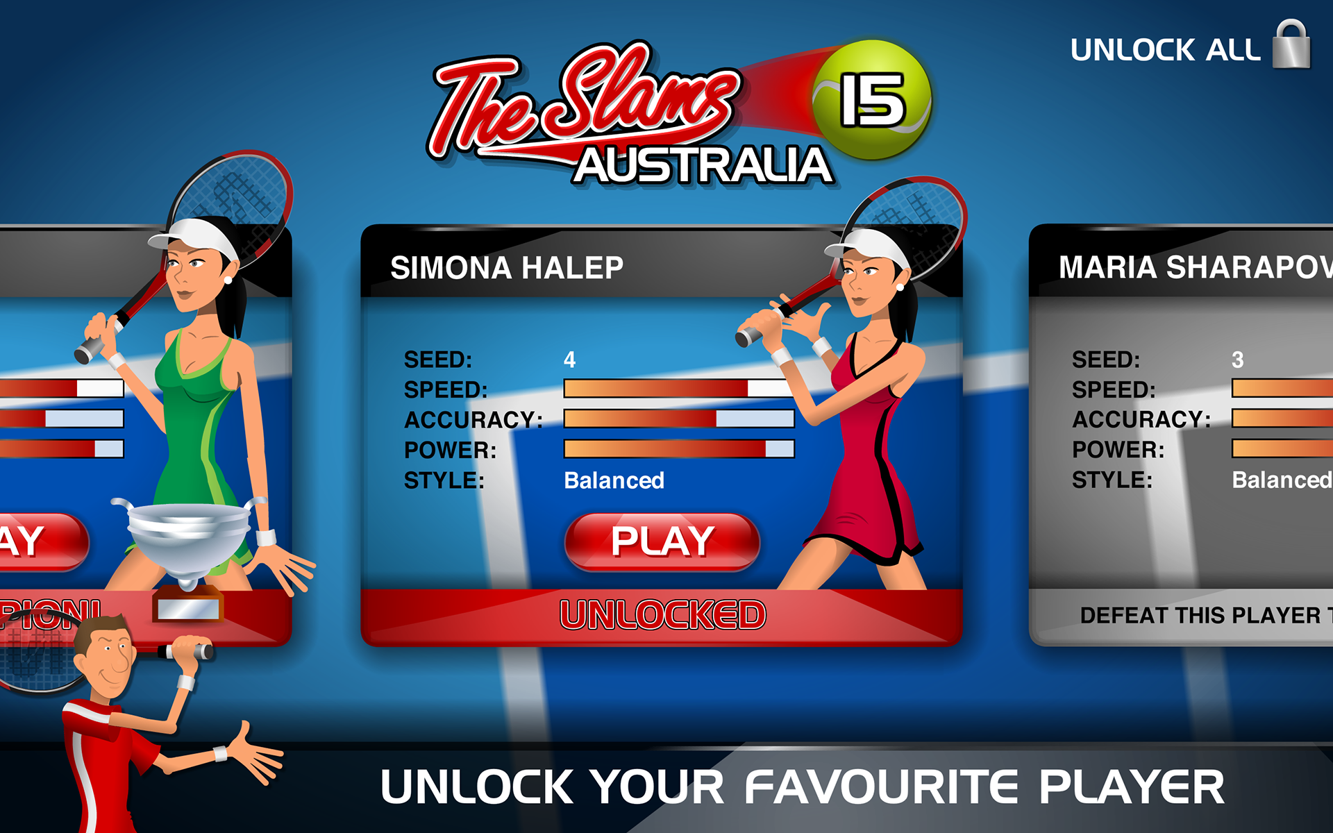 Stick Tennis screenshot #14