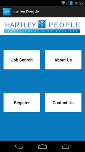 Hartley People-Job Search App