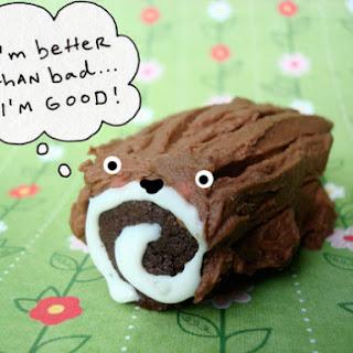 Chocolate Log Cookies
