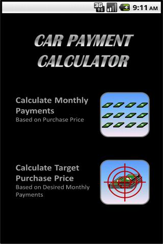 Car Payment Calculator Full Android Apps On Google Play