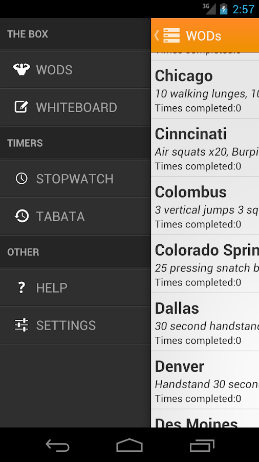 Travel WODs: Travel Workouts- screenshot