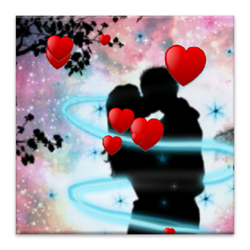 Romantic floating hearts LW