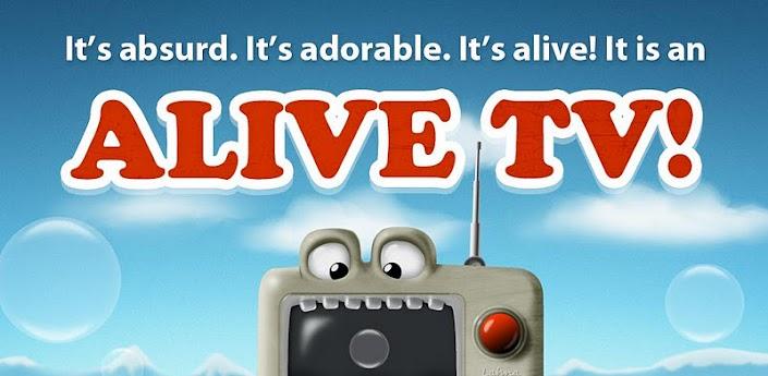 Alive TV Live Wallpaper - живые обо с забавным телевизором