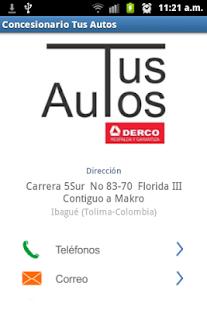 Concesionario Tus Autos Ibagué - screenshot thumbnail