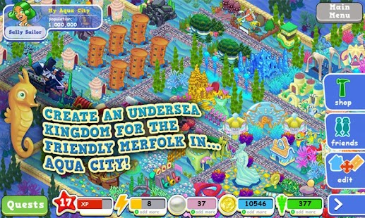 Aqua City: Fish Empires - screenshot thumbnail
