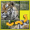 Slide animais quebra-cabeças icon