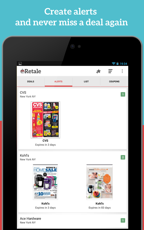 Retale - Weekly Ads & Deals - screenshot