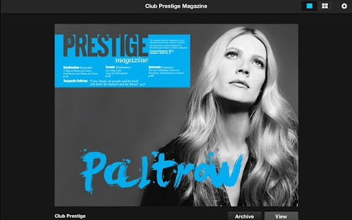 Club Prestige Magazine- screenshot thumbnail