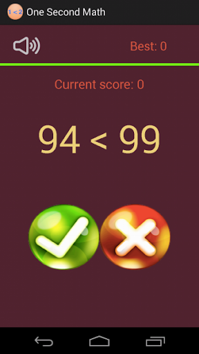 One Second Math