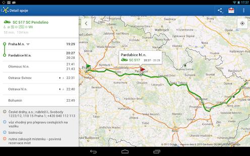 Offline Jízdní řády CG Transit Screenshot 32