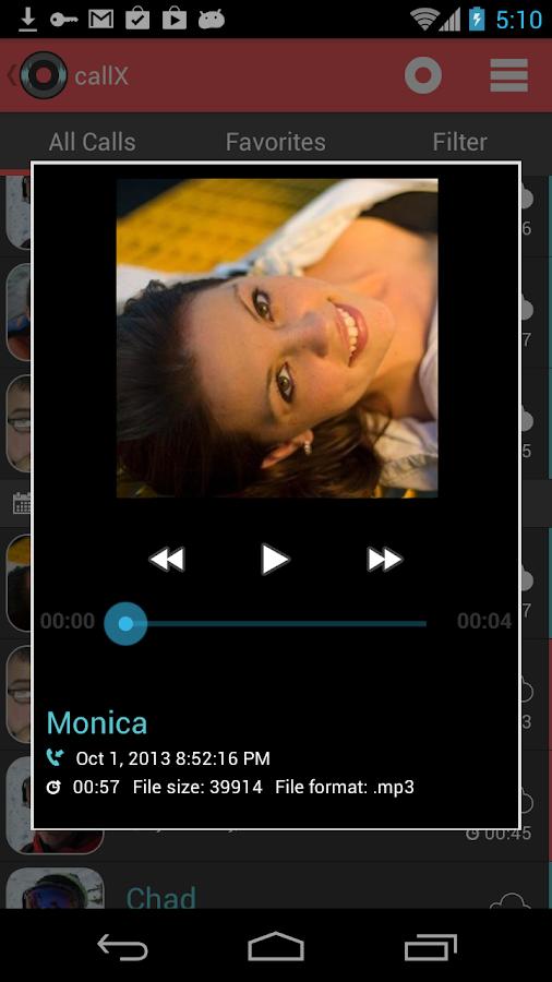 Automatic Call Recorder - screenshot