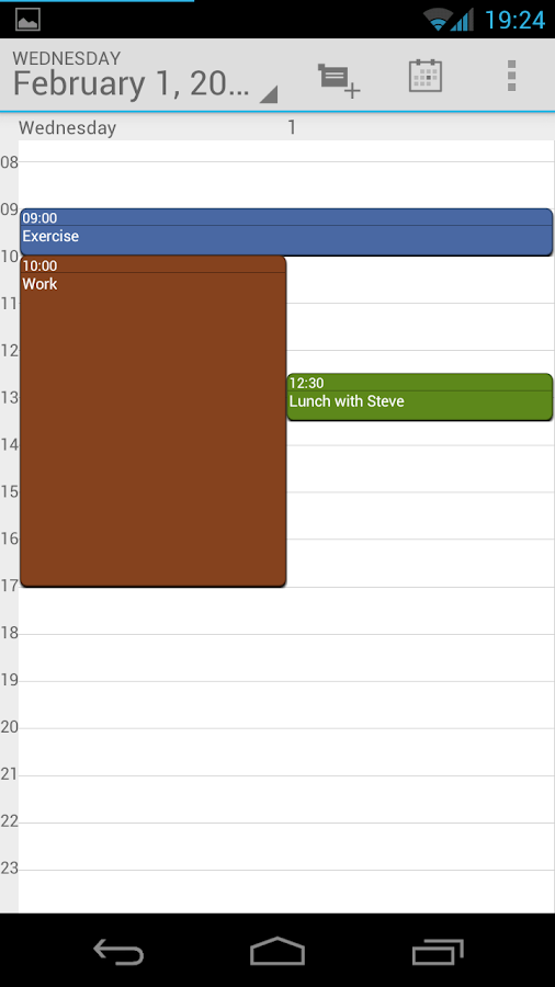 Calendar Droid Free - screenshot