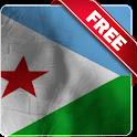 Djibouti flag lwp Free icon