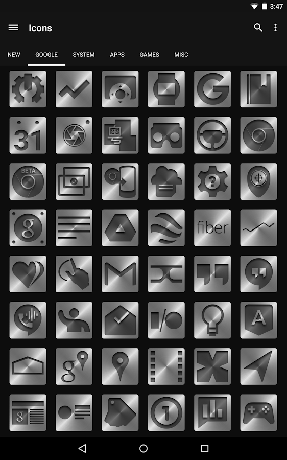 Metal - Icon Pack- screenshot
