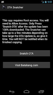 OTA Snatcher- screenshot thumbnail