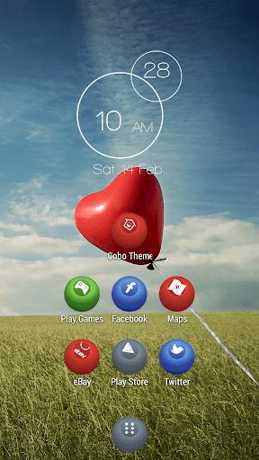 秸稈主題心臟氣球