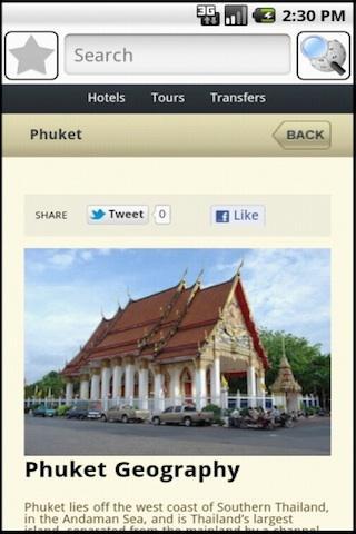 Phuket Travel Guide - screenshot