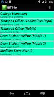 Screenshot of BIT Info