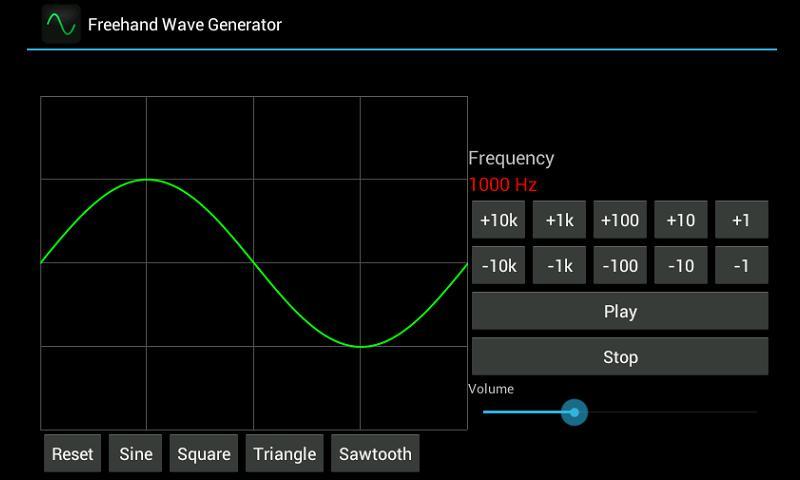 Freehand Wave Generator - screenshot